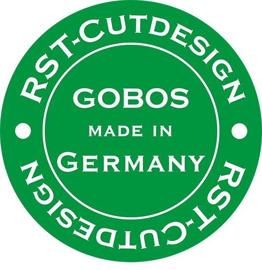 Gobos made in Germany